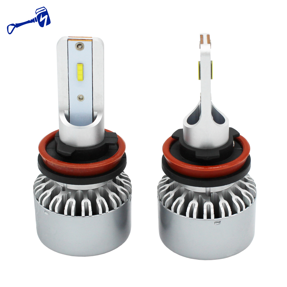 H8 Automotive Led Light Bulbs 12v