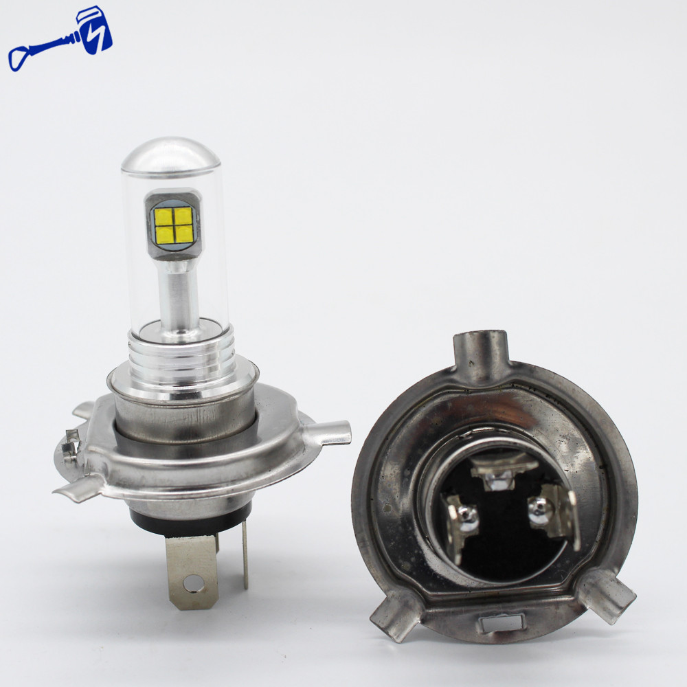 Scooter led headlight bulb h4